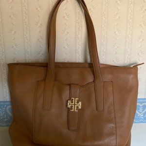 Tory Burch Tan Leather Tote